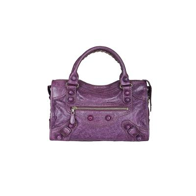 medium tote bag purple